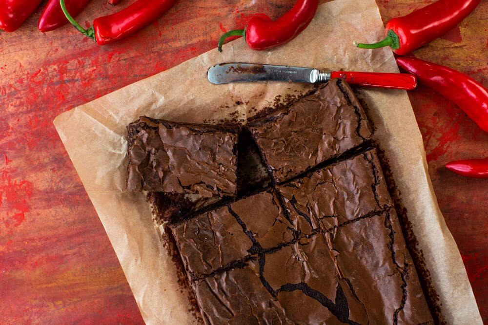Rolly's Chilli Brownies