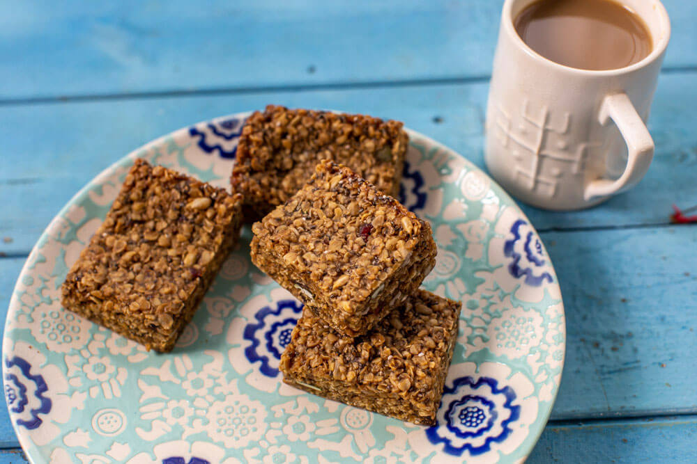 Rolly's Brownies Fruit Flapjack