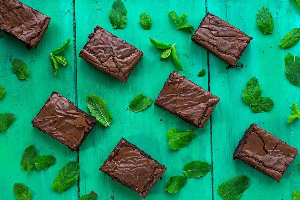 Rolly's Peppermint Brownies