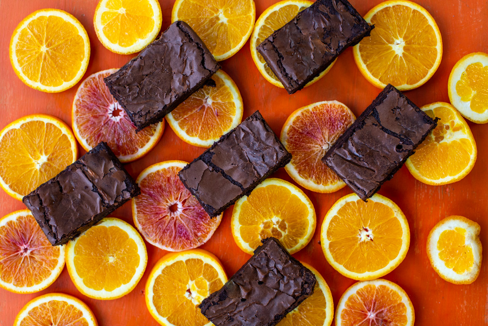Rolly's Orange Brownies